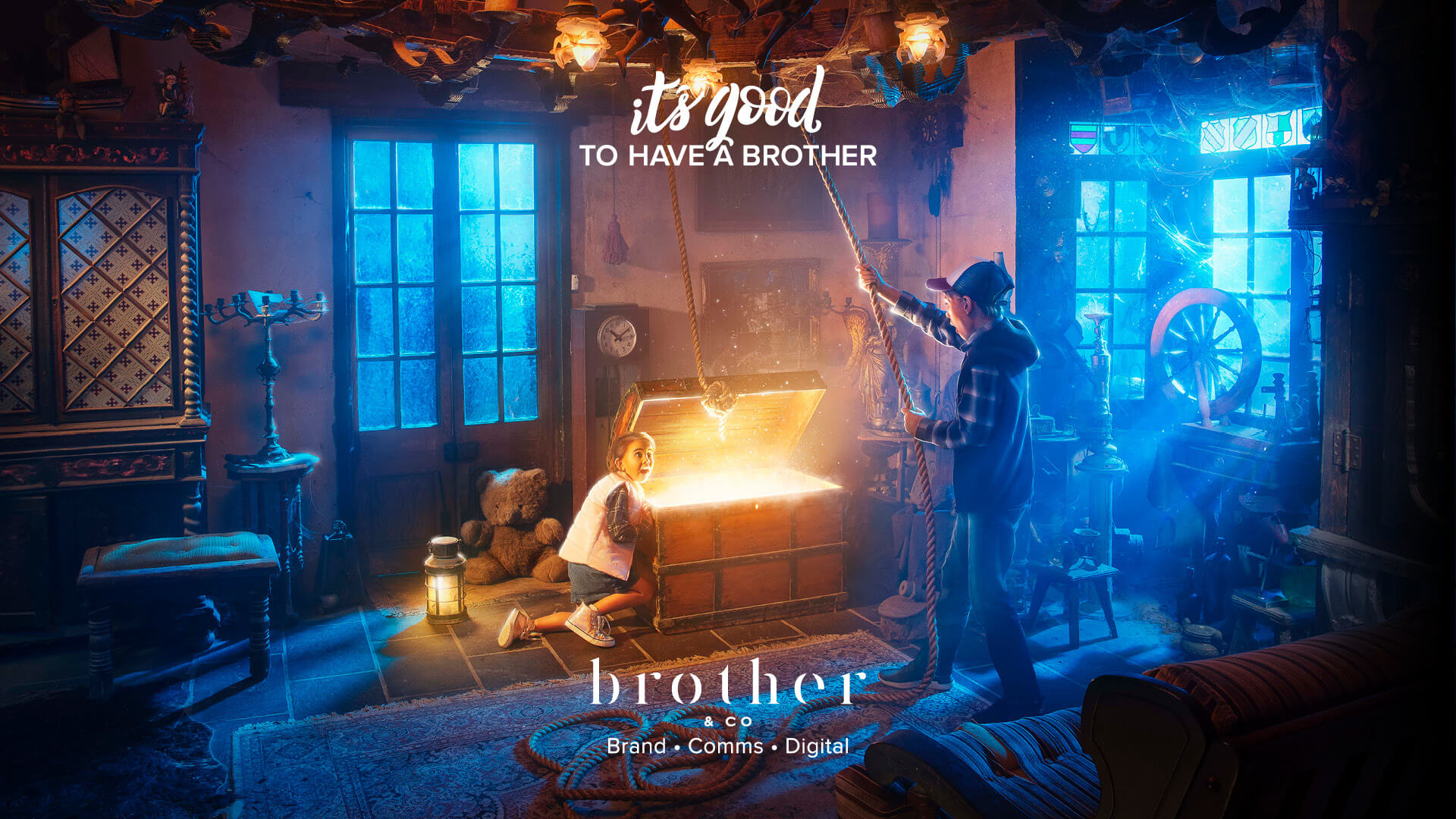It's good to have a brother - Banner 1