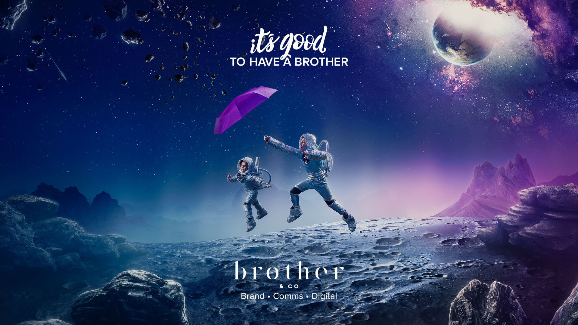 It's good to have a brother - Banner 3